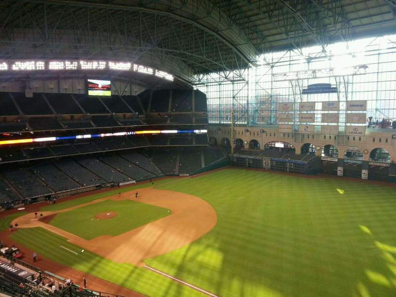 Seating view for Minute Maid Park Section 431 Row 2 Seat 10