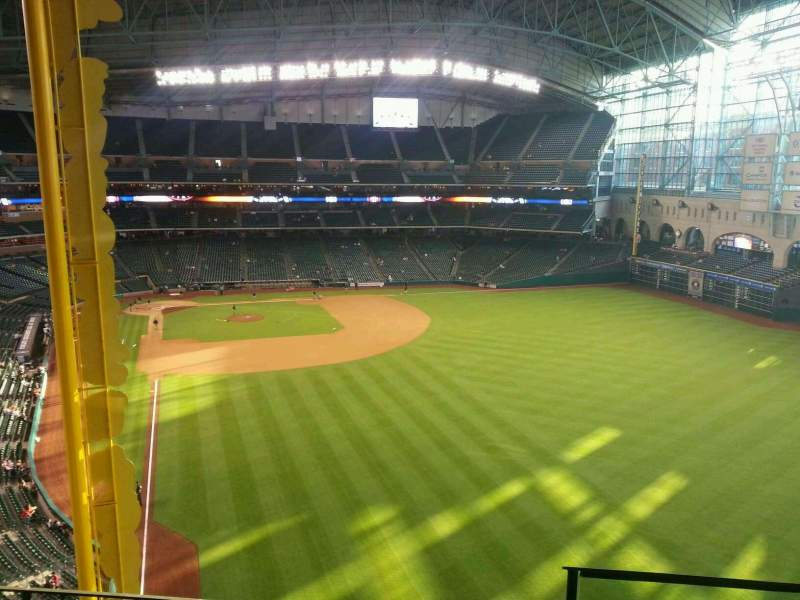 Seating view for Minute Maid Park Section 337 Row 4 Seat 20