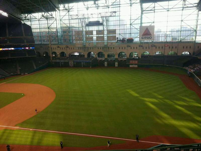 Seating view for Minute Maid Park Section 330 Row 4 Seat 10