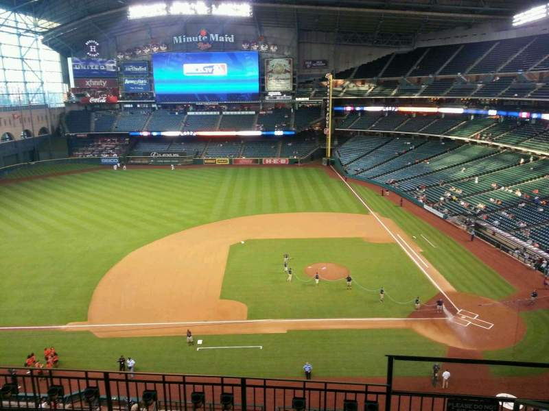 Seating view for Minute Maid Park Section 313 Row 5 Seat 23