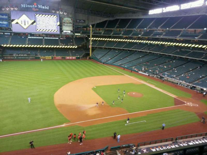 Seating view for Minute Maid Park Section 310 Row 2 Seat 18