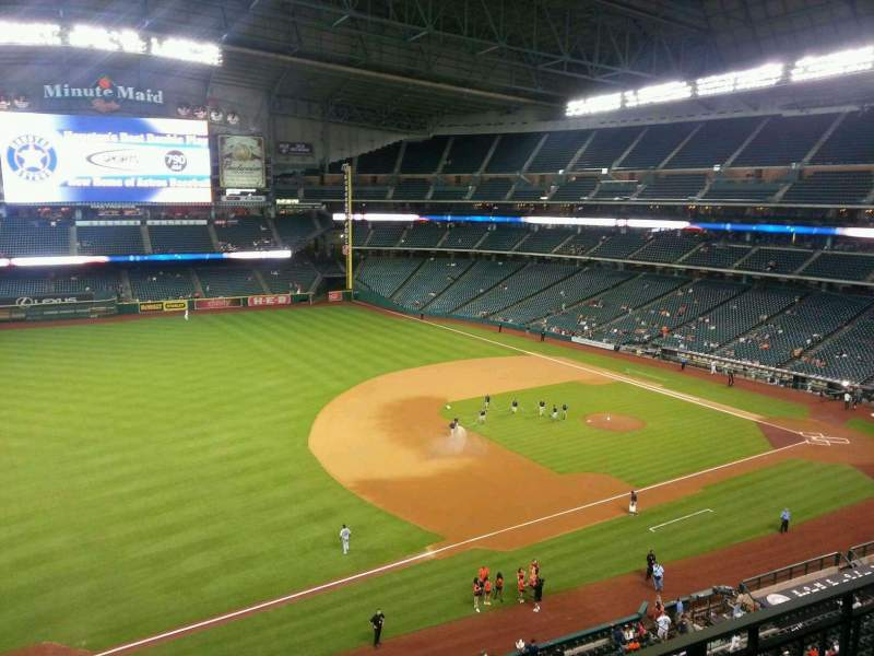 Seating view for Minute Maid Park Section 309 Row 2 Seat 13