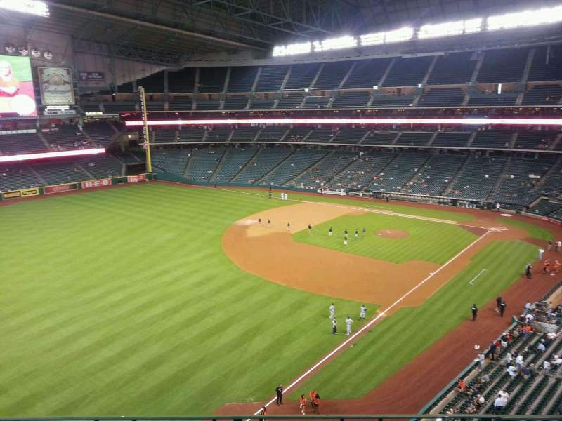 Seating view for Minute Maid Park Section 307 Row 3 Seat 10