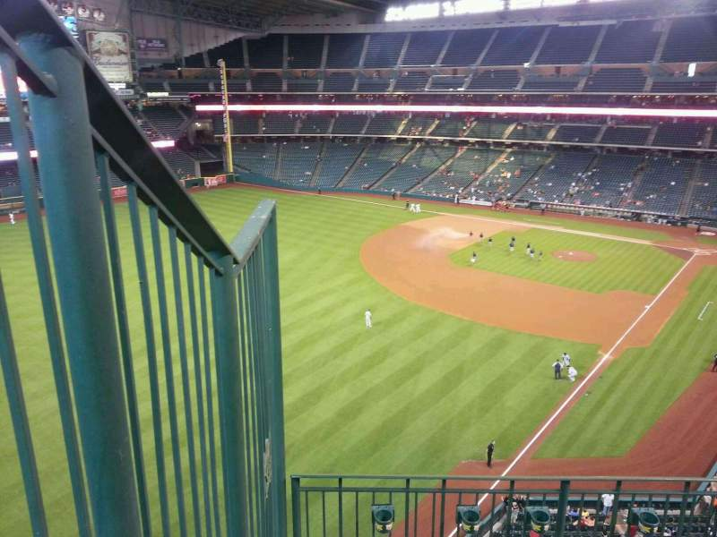Seating view for Minute Maid Park Section 305 Row 4 Seat 1