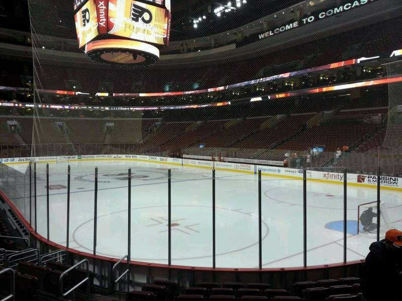 Seating view for Wells Fargo Center Section 117 Row 10 Seat 6