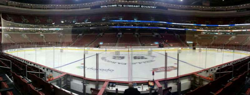 Seating view for Wells Fargo Center Section 113 Row 6 Seat 12