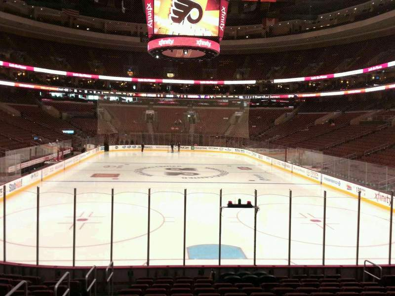 Seating view for Wells Fargo Center Section 106 Row 10 Seat 10