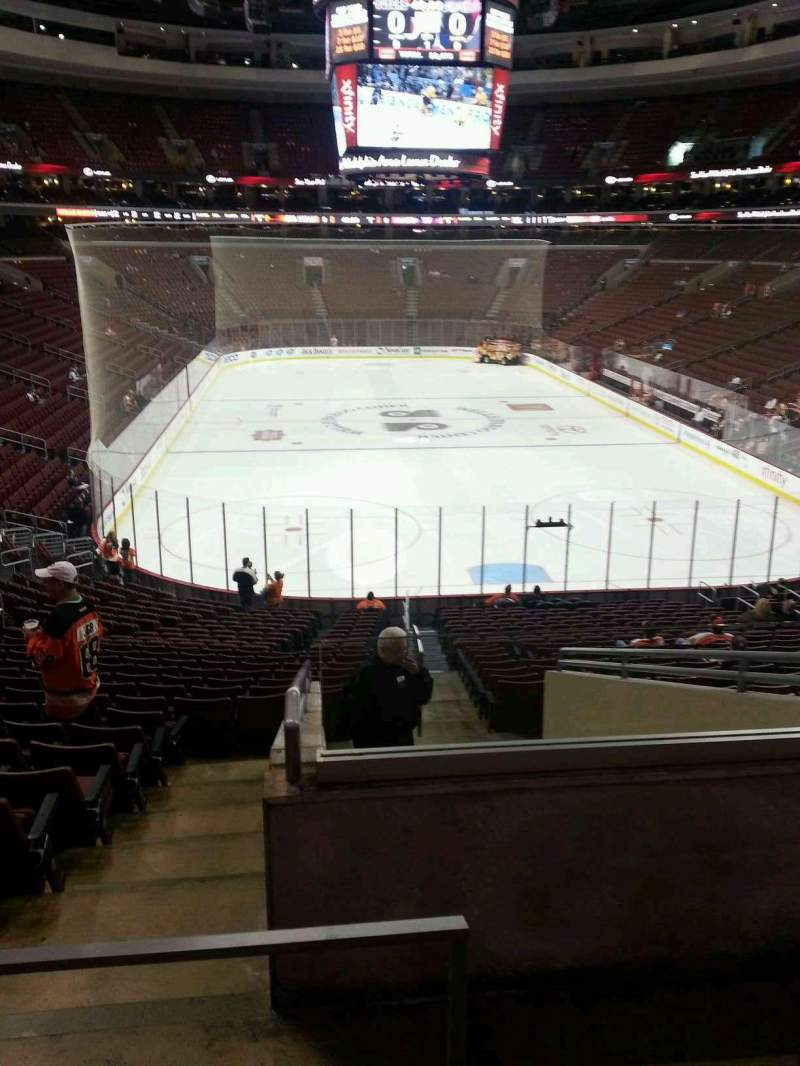 Seating view for Wells Fargo Center Section 118 Row 26 Seat 24