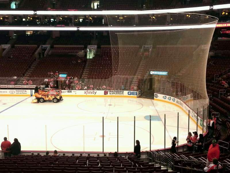 Seating view for Wells Fargo Center Section 115 Row 23 Seat 10