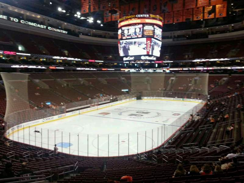 Seating view for Wells Fargo Center Section 109 Row 26 Seat 9