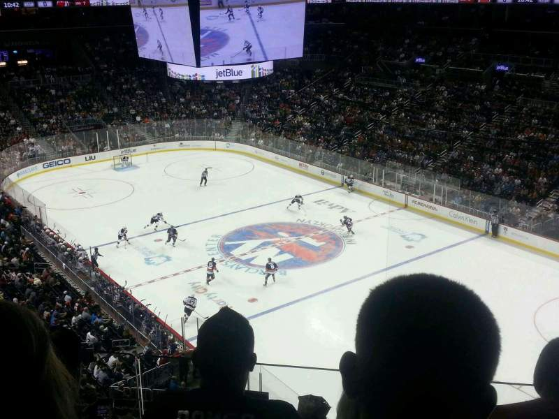 Seating view for Barclays Center Section 203 Row 3 Seat 14