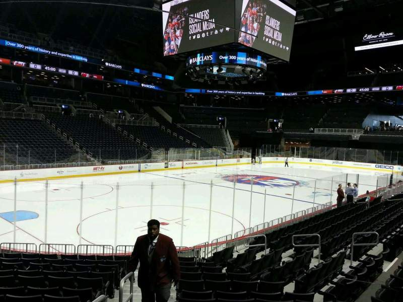 Seating view for Barclays Center Section 12 Row 10