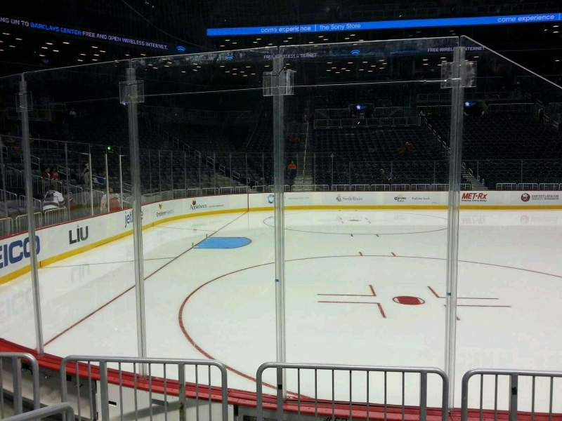 Seating view for Barclays Center Section 4 Row 4 Seat 18