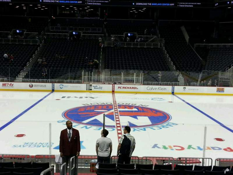 Seating view for Barclays Center Section 7 Row 13 Seat 18