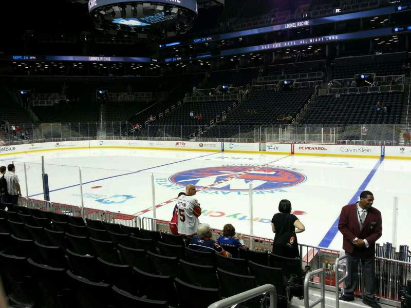 Seating view for Barclays Center Section 6 Row 10 Seat 7
