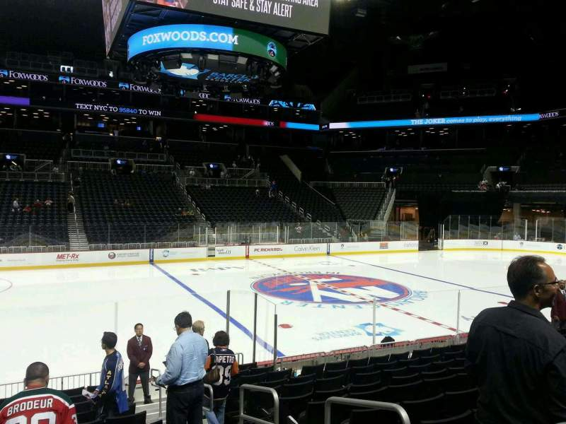 Seating view for Barclays Center Section 9 Row 13 Seat 3