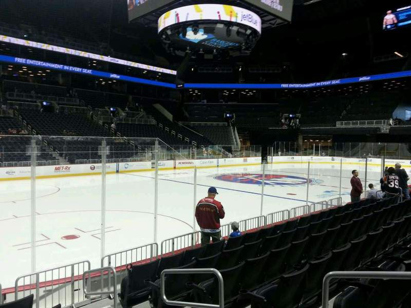 Seating view for Barclays Center Section 10 Row 7 Seat 3