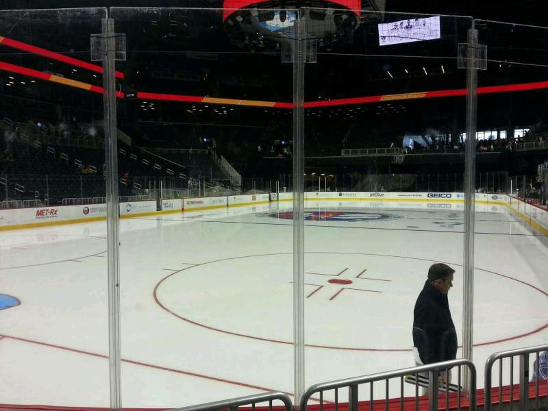 Seating view for Barclays Center Section 12 Row 3 Seat 10
