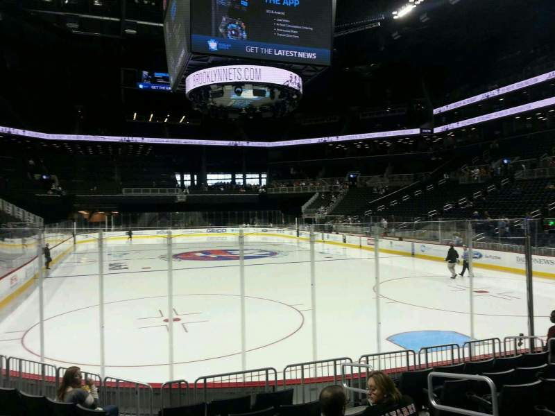 Seating view for Barclays Center Section 17 Row 8 Seat 5