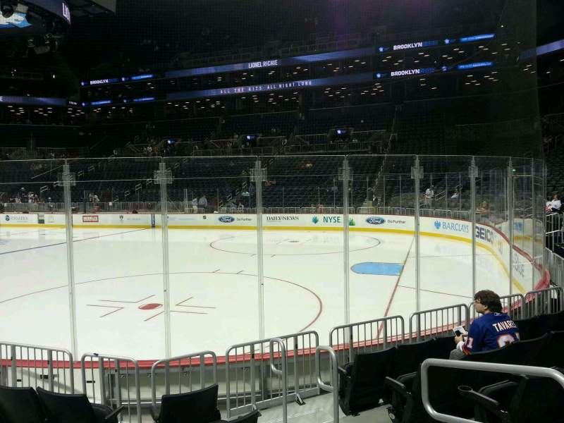 Seating view for Barclays Center Section 20 Row 6 Seat 3