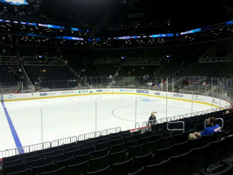 Seating view for Barclays Center Section 24 Row 10 Seat 11