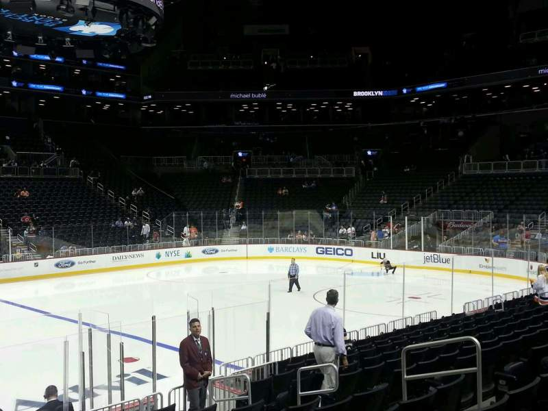 Seating view for Barclays Center Section 25 Row 12 Seat 10