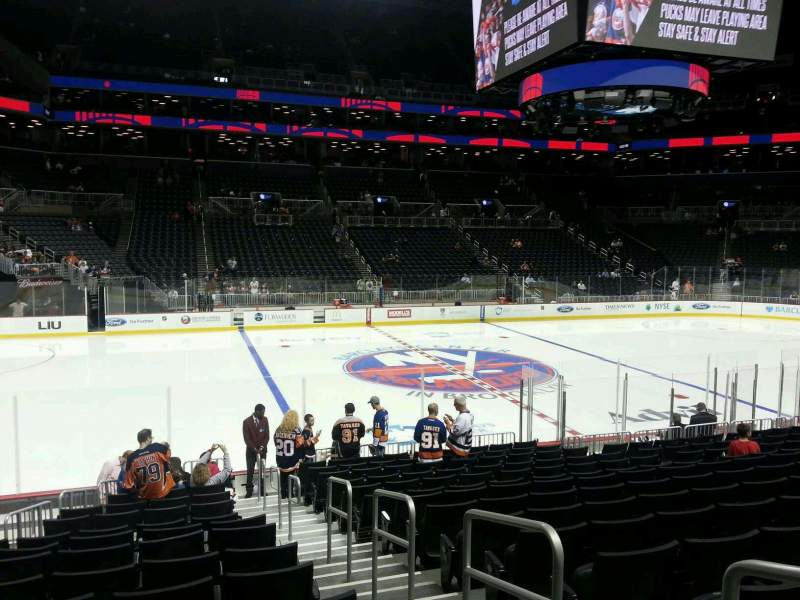 Seating view for Barclays Center Section 26 Row 15 Seat 2