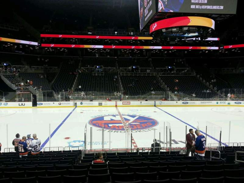 Seating view for Barclays Center Section 25 Row 15 Seat 8