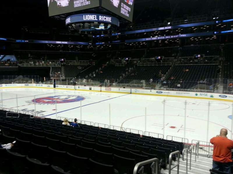 Seating view for Barclays Center Section 22 Row 13 Seat 8