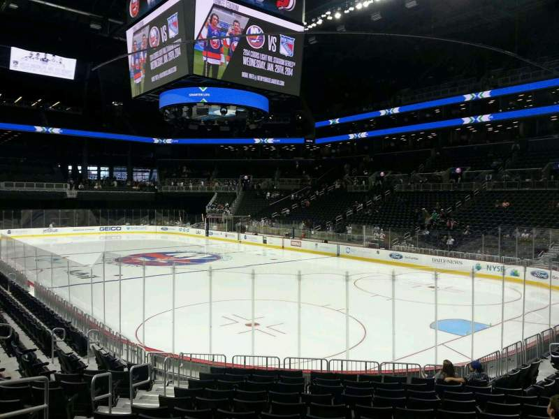 Seating view for Barclays Center Section 20 Row 13 Seat 13