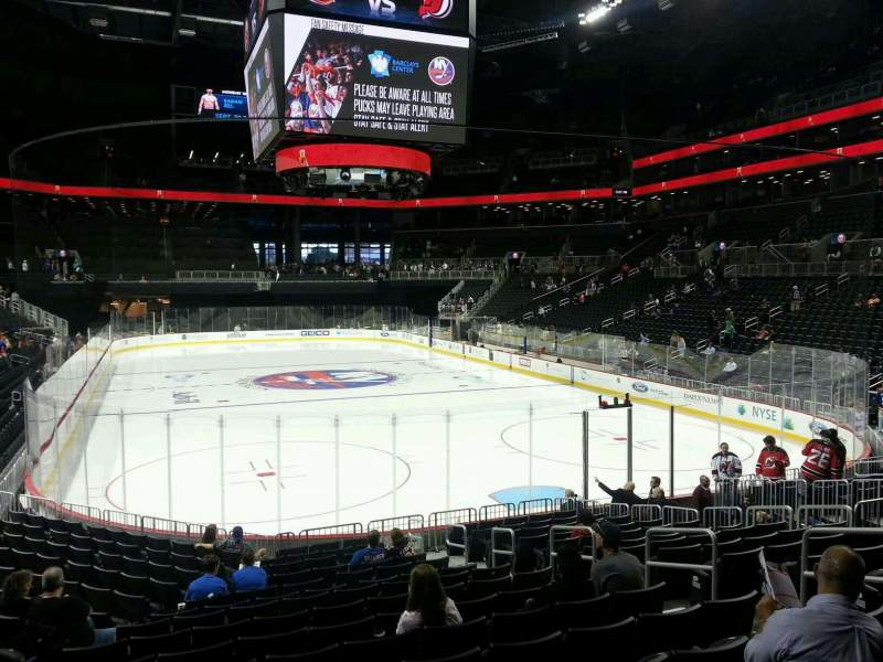 Seating view for Barclays Center Section 17 Row 16 Seat 8