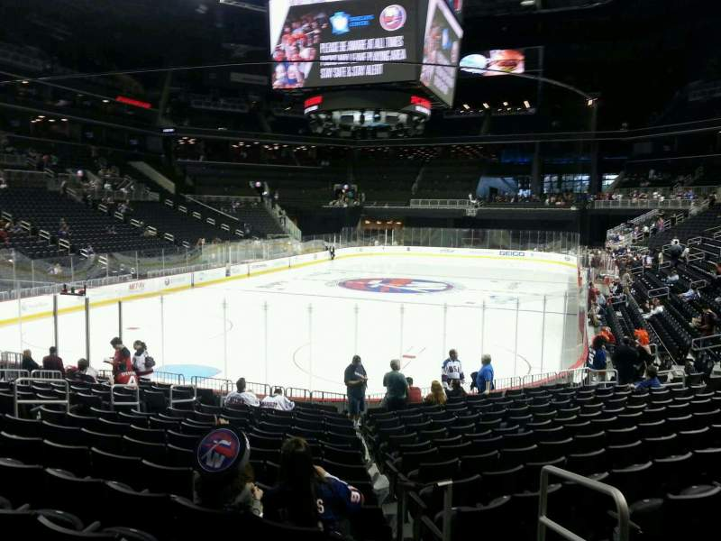Seating view for Barclays Center Section 15 Row 15 Seat 3