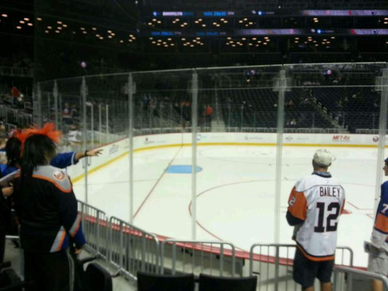 Seating view for Barclays Center Section 10 Row 5 Seat 7