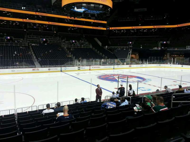 Seating view for Barclays Center Section 9 Row 12 Seat 10