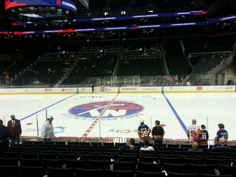 Seating view for Barclays Center Section 7 Row 14 Seat 8