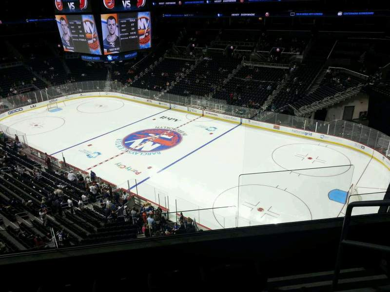 Seating view for Barclays Center Section 204 Row 4 Seat 2