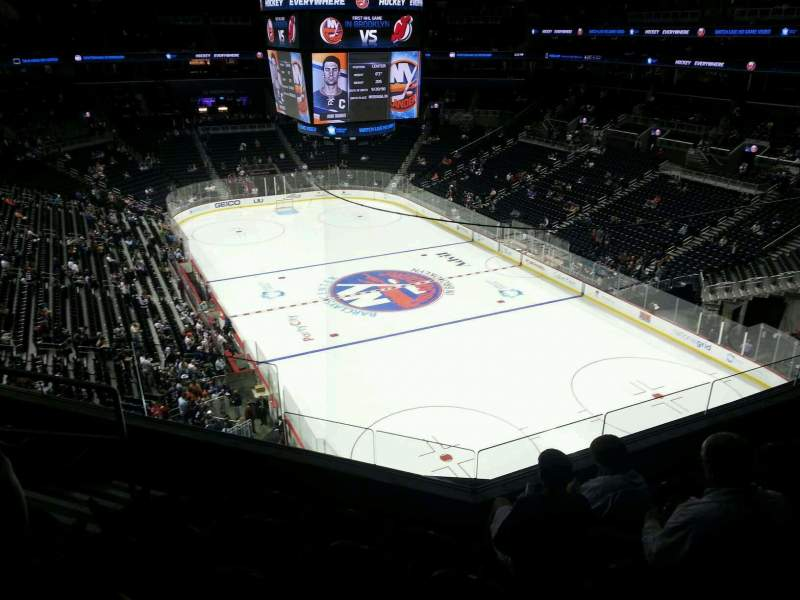 Seating view for Barclays Center Section 202 Row 5 Seat 13