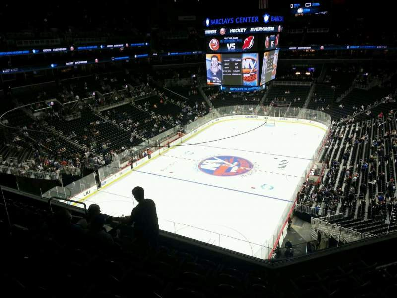 Seating view for Barclays Center Section 230 Row 7 Seat 10