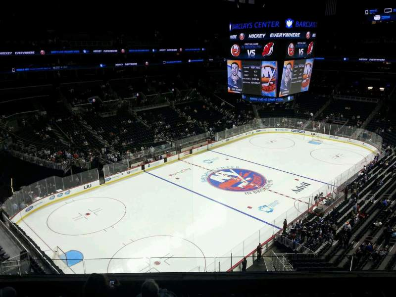 Seating view for Barclays Center Section 229 Row 6 Seat 8