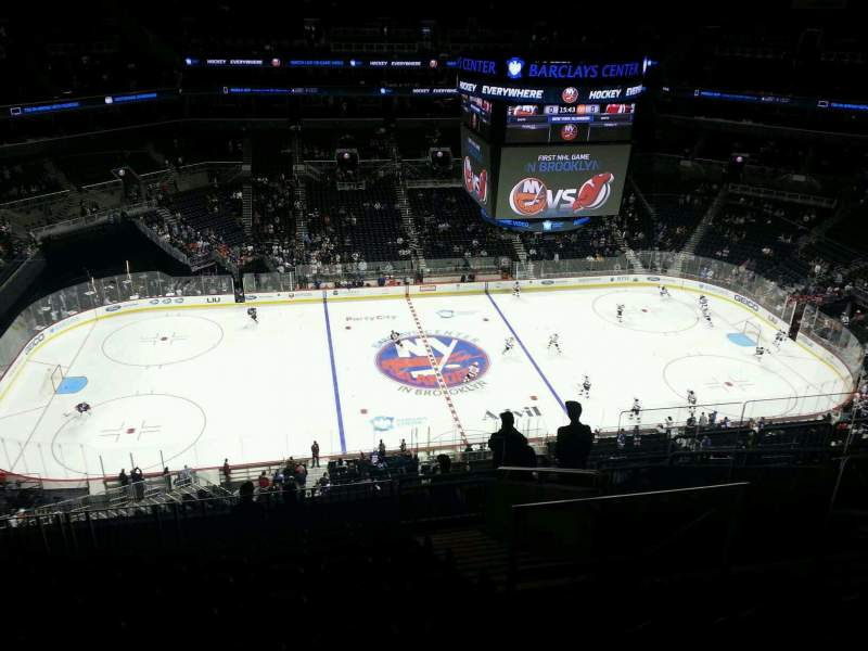 Seating view for Barclays Center Section 226 Row 11 Seat 5