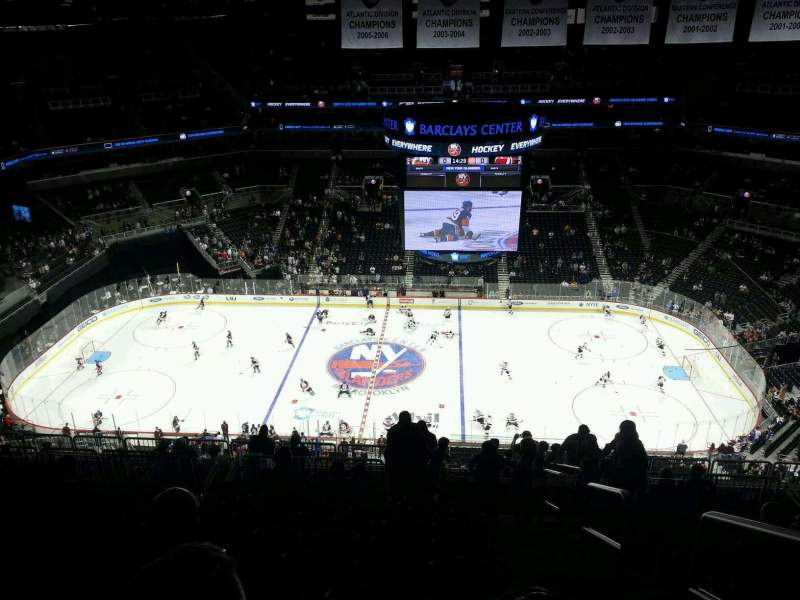 Seating view for Barclays Center Section 225 Row 16 Seat 1