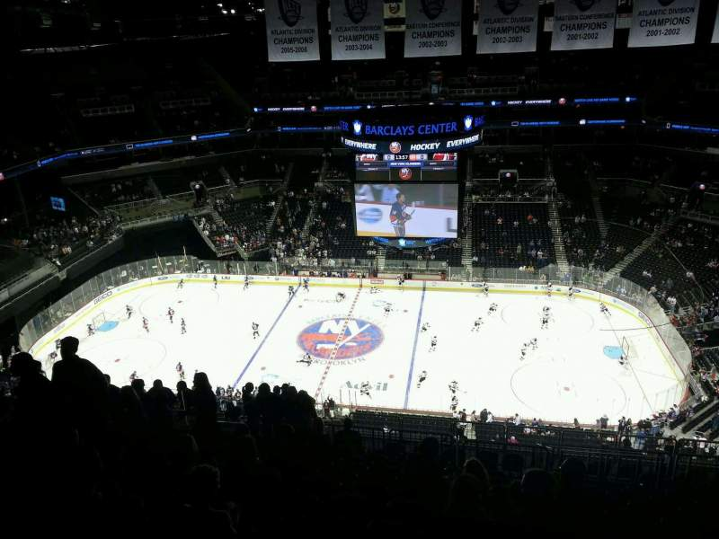 Seating view for Barclays Center Section 223 Row 16 Seat 18