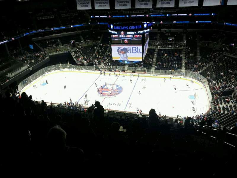 Seating view for Barclays Center Section 223 Row 20 Seat 3
