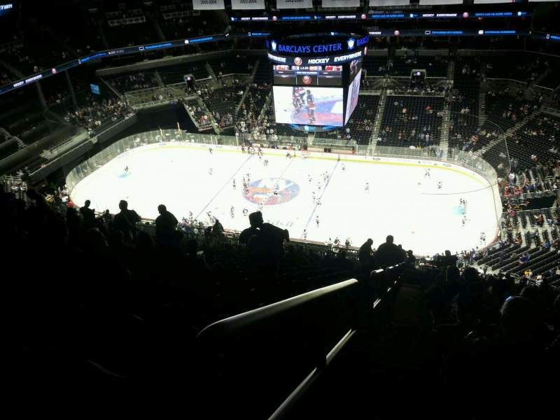 Seating view for Barclays Center Section 222 Row 22 Seat 27