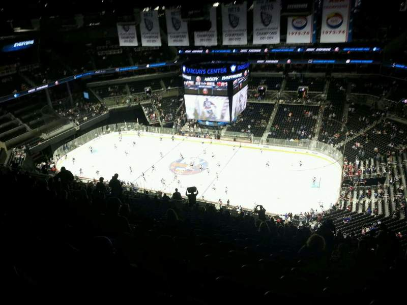 Seating view for Barclays Center Section 222 Row 22 Seat 8