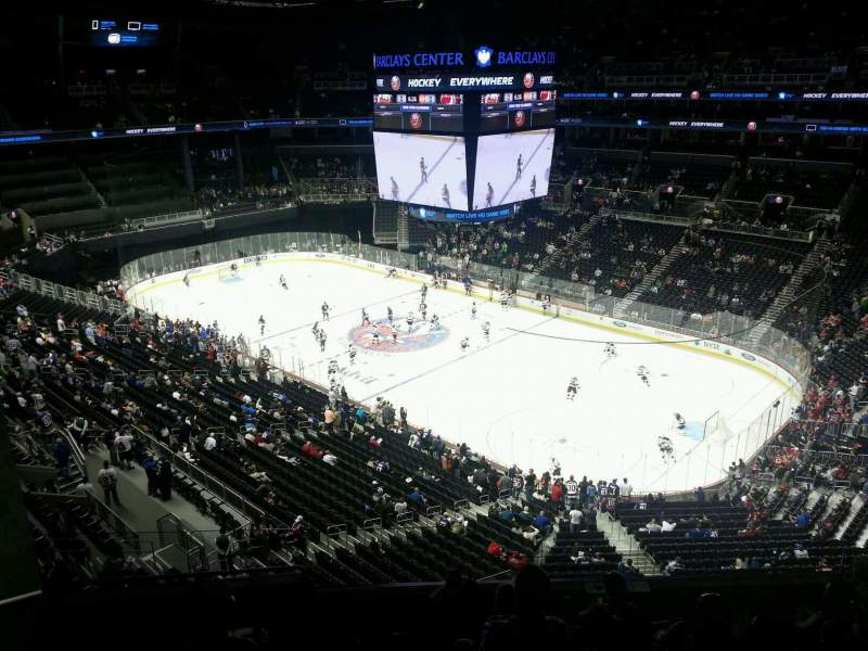 Seating view for Barclays Center Section 220 Row 7 Seat 6