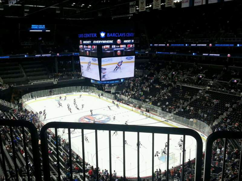 Seating view for Barclays Center Section 219 Row accessible