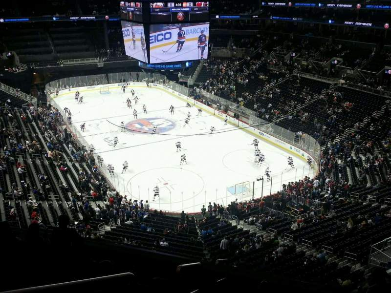 Seating view for Barclays Center Section 218 Row 7 Seat 19