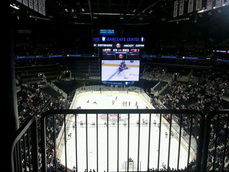 Seating view for Barclays Center Section 211 Row accessible