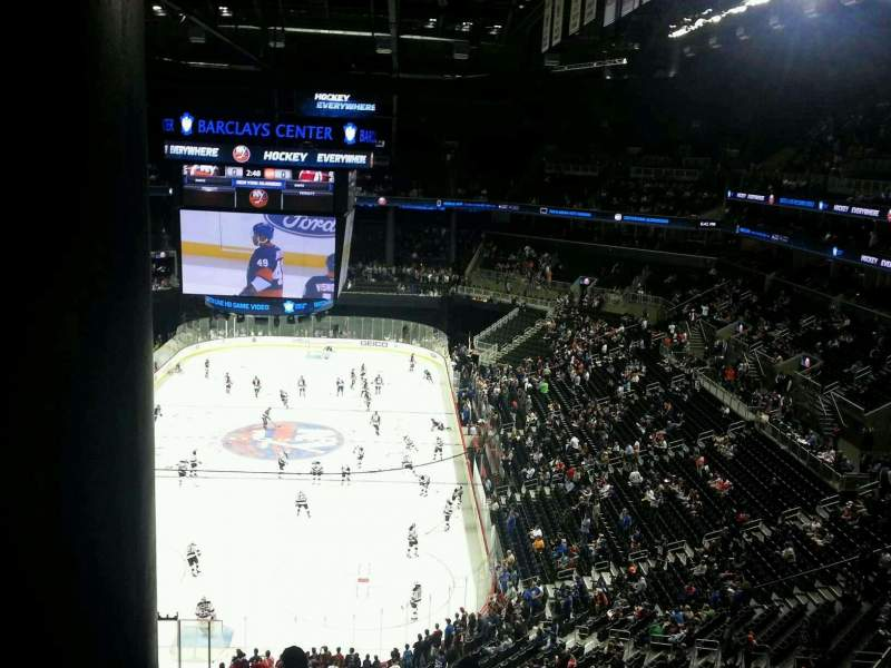 Seating view for Barclays Center Section 215 Row 9 Seat 8